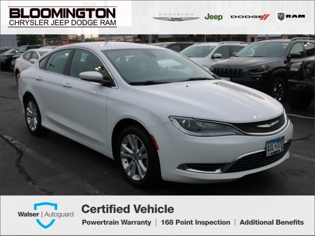 Pre-Owned 2016 Chrysler 200 Limited FWD Power Drivers Seat