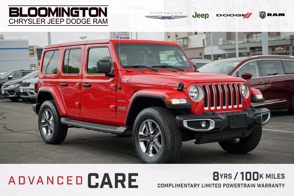 Pre-Owned 2019 Jeep Wrangler Unlimited SAHARA AUTO NAV HT