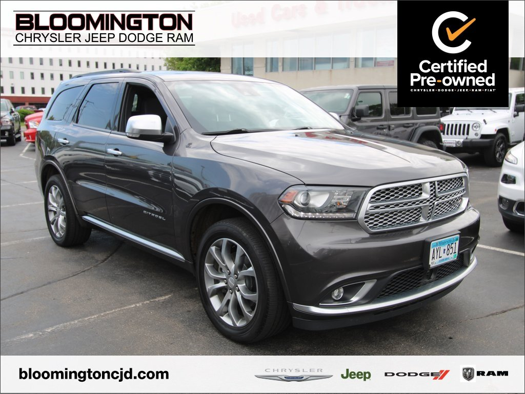 Certified Pre-Owned 2017 Dodge Durango Citadel Anodized Platinum AWD