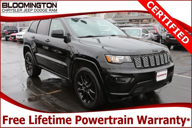 Certified Pre-Owned 2018 Jeep Grand Cherokee CERTIFIED Altitude 4x4 Navigation Sunroof 20's