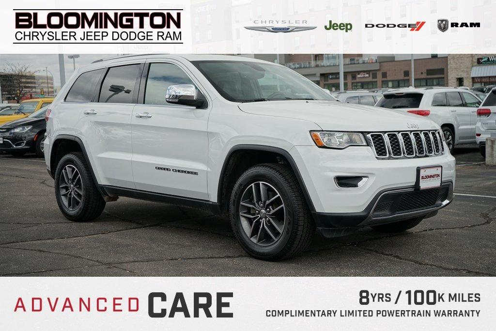 Pre-Owned 2017 Jeep Grand Cherokee LTD NAV MR TOW B/S