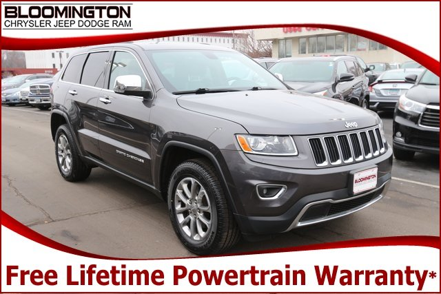 Pre-Owned 2015 Jeep Grand Cherokee Limited 4x4 Navigation Sunroof