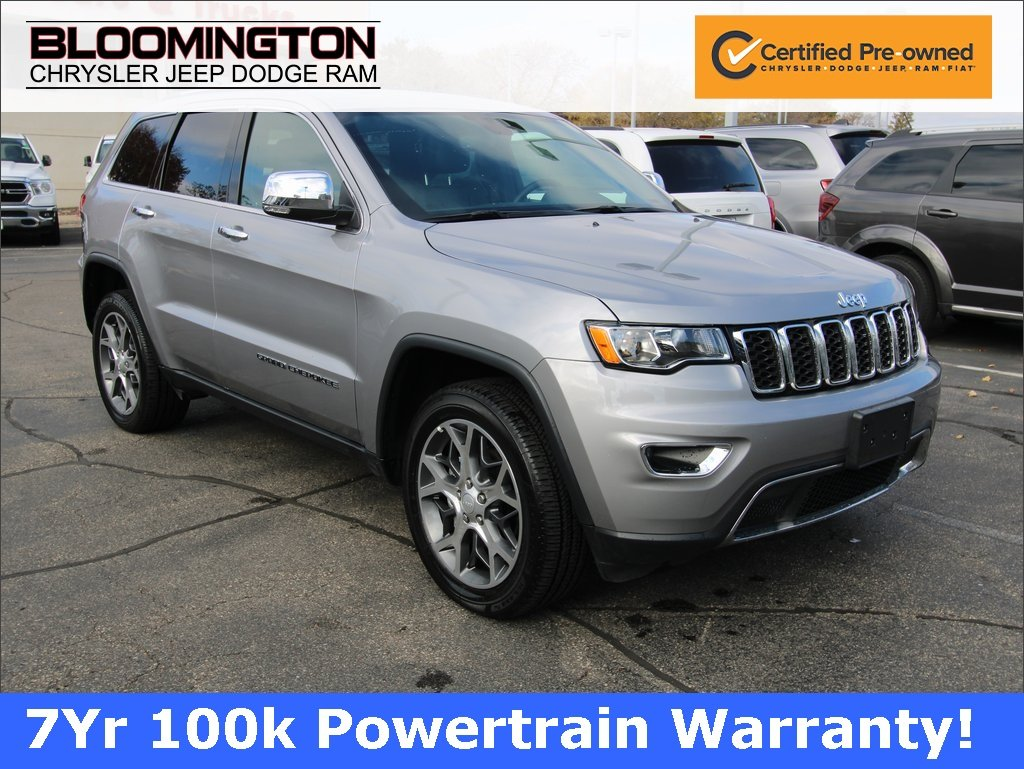Certified Pre-Owned 2019 Jeep Grand Cherokee LTD NAV MOON 20'S