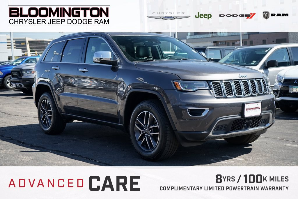 Pre-Owned 2019 Jeep Grand Cherokee LTD LUX2 ADV SAFE