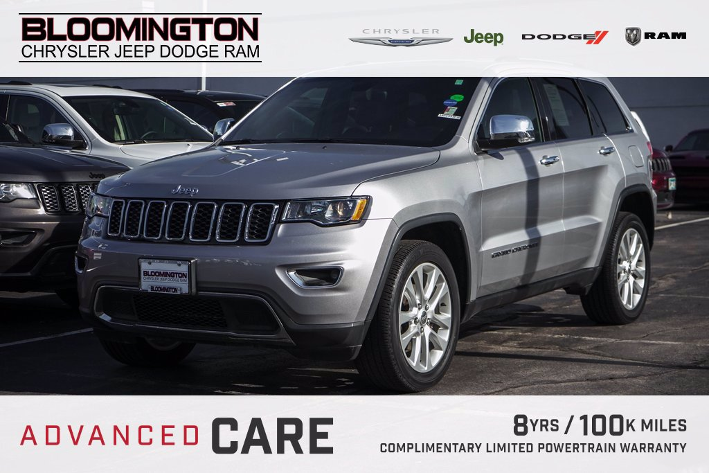 Pre-Owned 2017 Jeep Grand Cherokee LTD NAV MOON 20'S