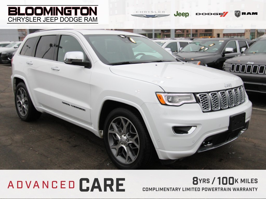 Pre-Owned 2019 Jeep Grand Cherokee OVERLAND ADV SAFET