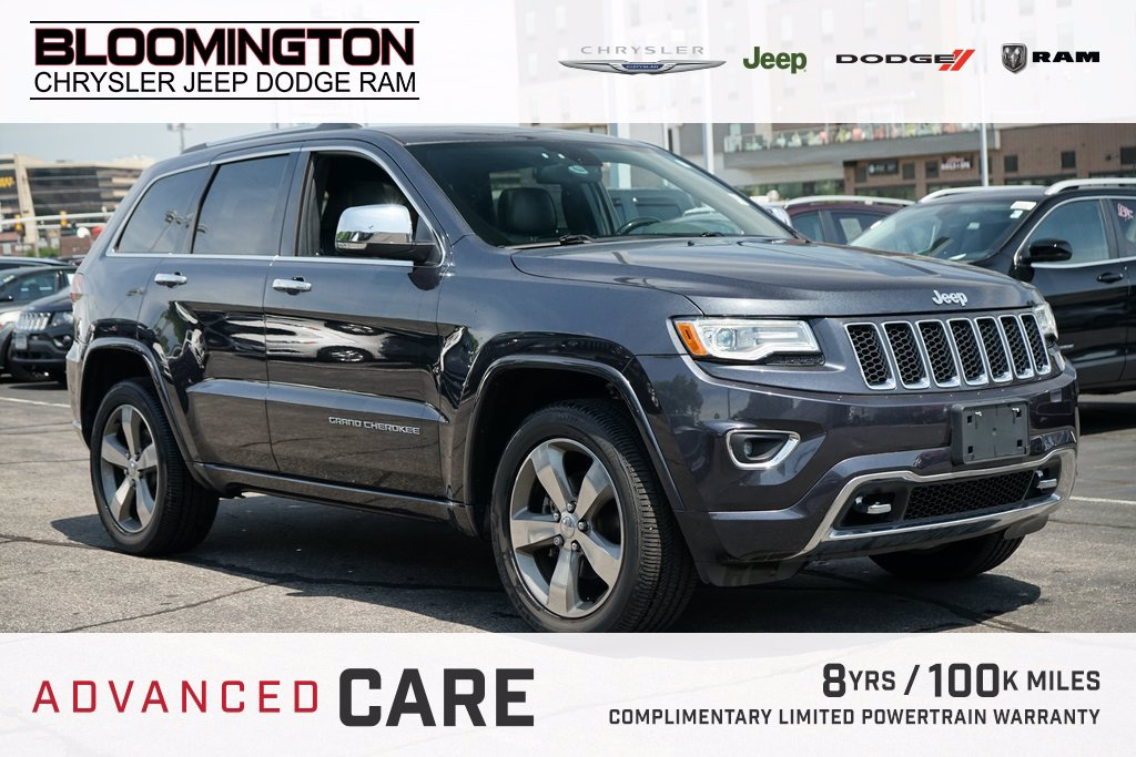 Pre-Owned 2016 Jeep Grand Cherokee OVERLAND B/S