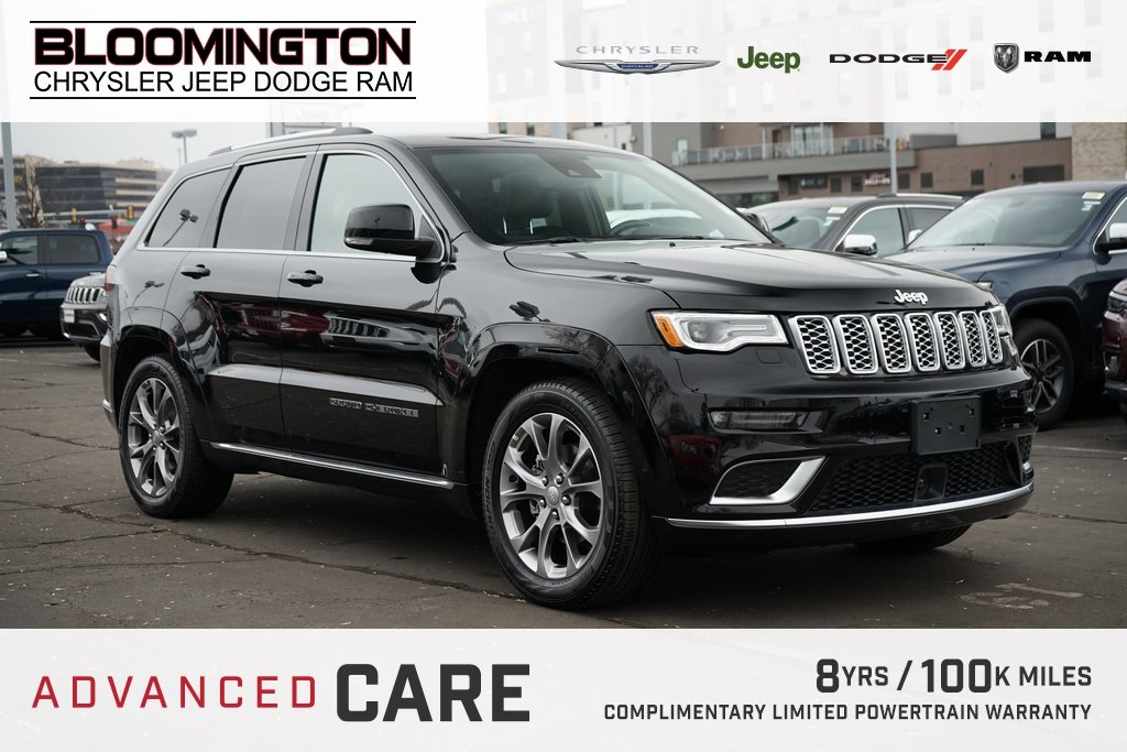 Pre-Owned 2019 Jeep Grand Cherokee SUMMIT DVD PLAT