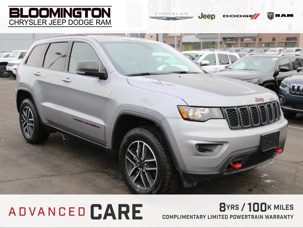 Pre-Owned 2019 Jeep Grand Cherokee TRAILHAWK NAV MOON