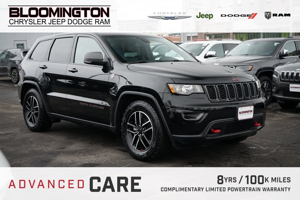 Pre-Owned 2019 Jeep Grand Cherokee TRAILHAWK NAV TOW