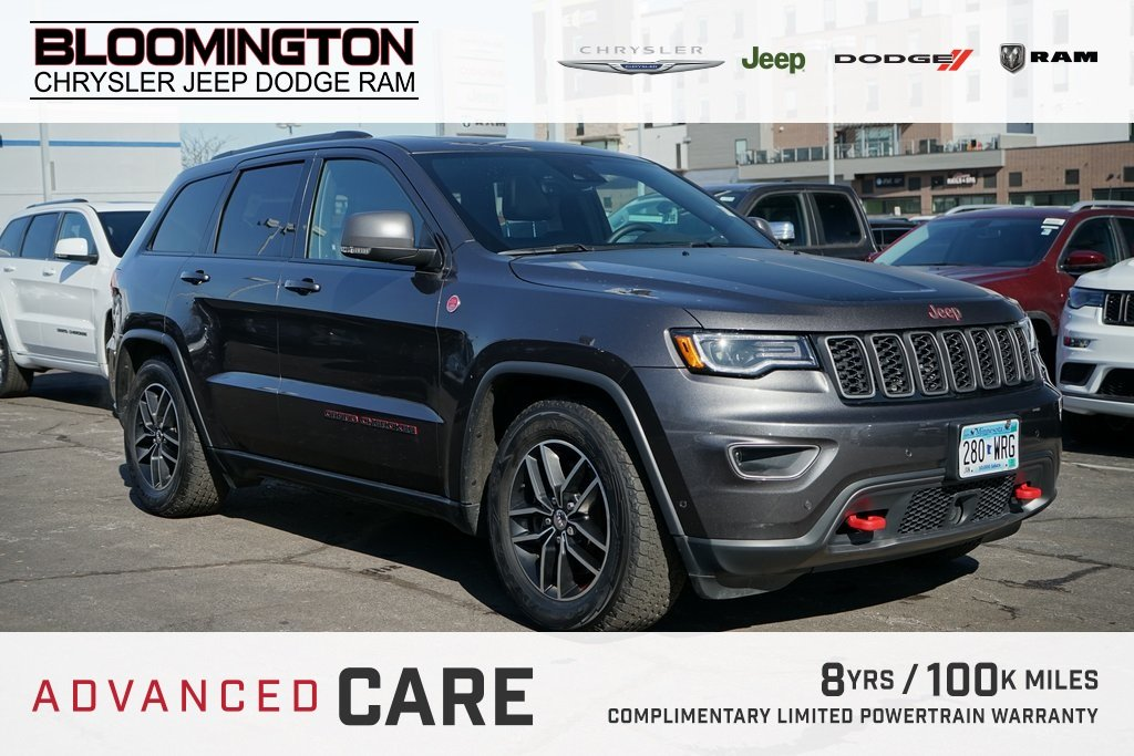 Pre-Owned 2017 Jeep Grand Cherokee TRAILHAWK LUX NAV