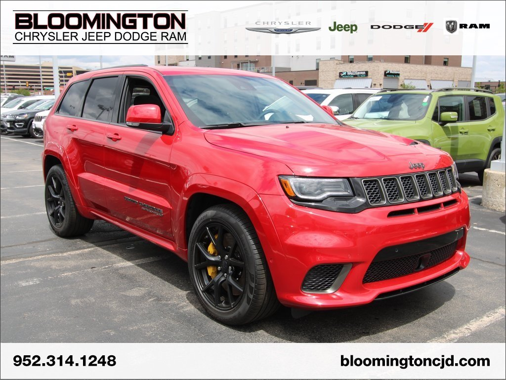 New 2018 JEEP Grand Cherokee Trackhawk Sport Utility in ...