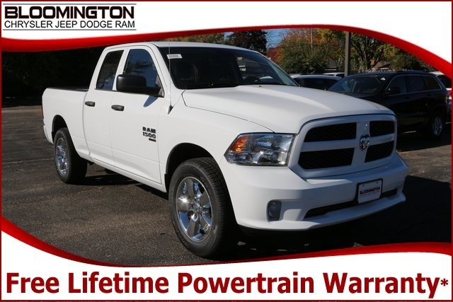 New 2019 Ram 1500 Classic Express Quad Cab In Bloomington 11ae078n