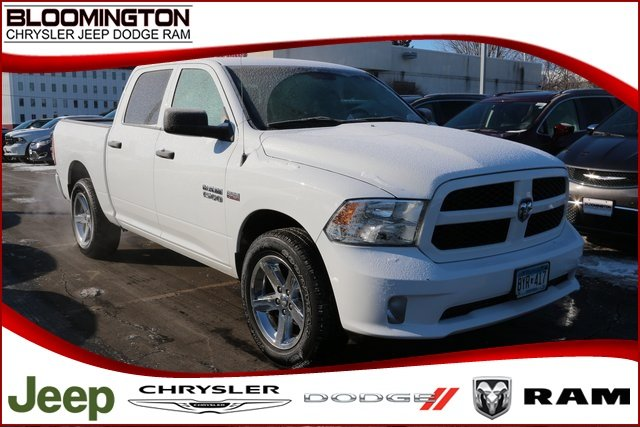 Pre Owned 2015 Ram 1500 Express Crew Cab 4x4 V8 Hemi 20 S Tow Crew