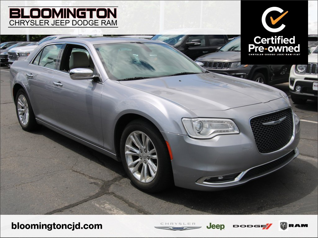 Certified Pre-Owned 2016 Chrysler 300 300C RWD Heated Leather Pano Sunroof