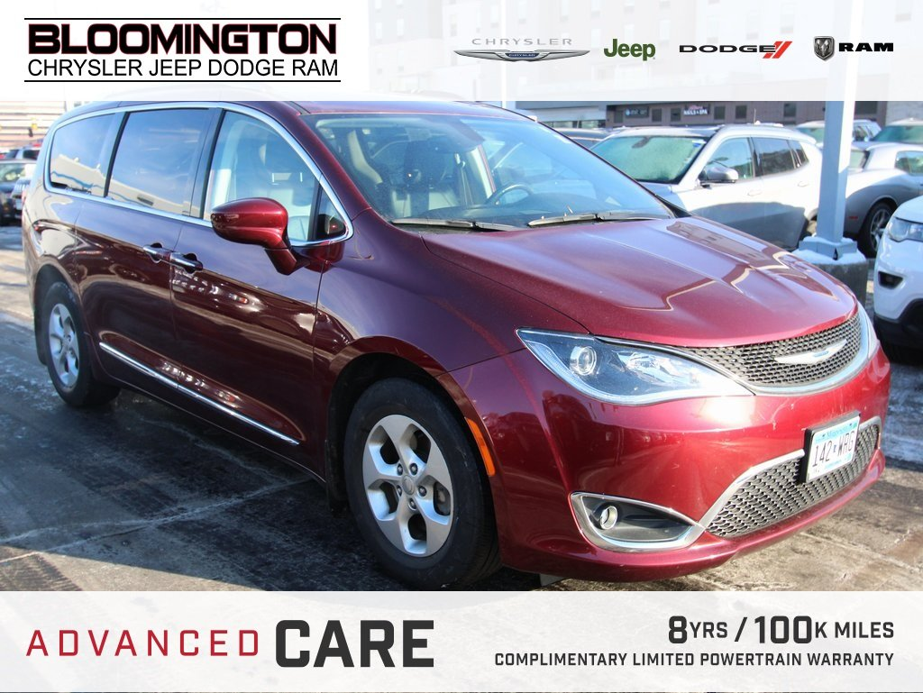 Pre-Owned 2017 Chrysler Pacifica 2017 CHRYSLER PACIFICA TOURING-L PLUS PASS. 4DR 121.6 WB FWD