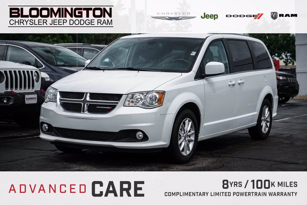 Pre-Owned 2019 Dodge Grand Caravan SXT DVD HTD SEATS