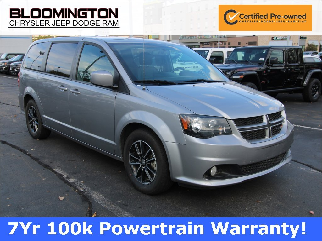 Certified Pre-Owned 2018 Dodge Grand Caravan GT NAV HTLTHR