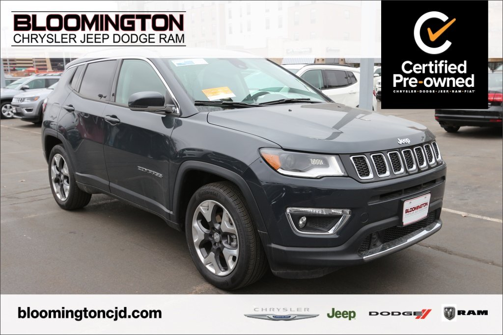 Certified Pre Owned Jeep >> Certified Pre Owned 2018 Jeep Compass Certified Limited Fwd Navigation Fwd Sport Utility