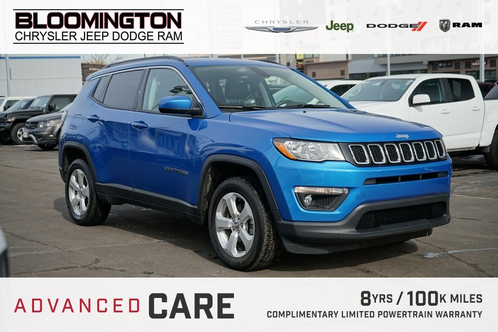 Pre-Owned 2018 Jeep Compass LAT 4X4 CW POP GRP