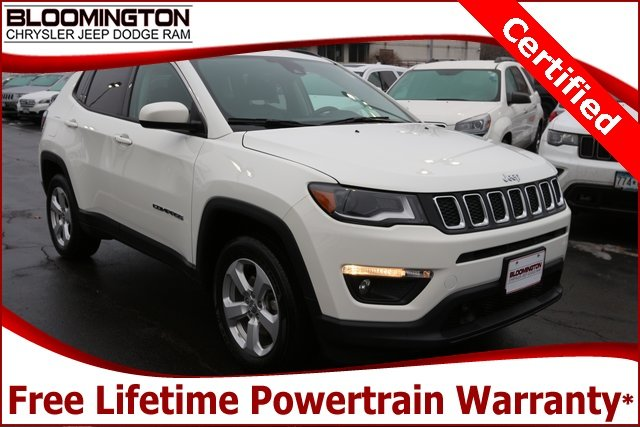 Certified Pre-Owned 2018 Jeep Compass CERTIFIED Latitude 4x4 Navigation Heated Seats