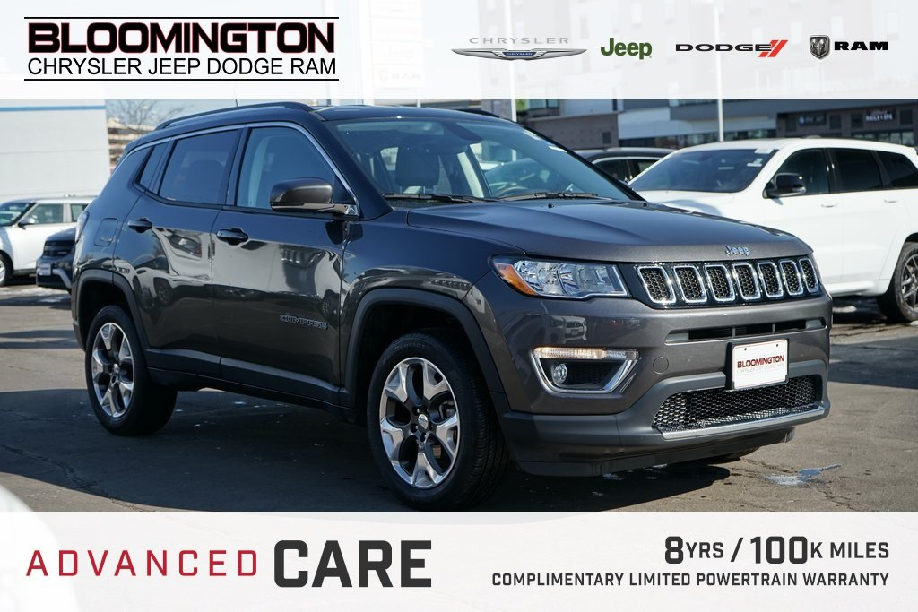 Pre-Owned 2018 Jeep Compass LTD HTLTHR 4X4