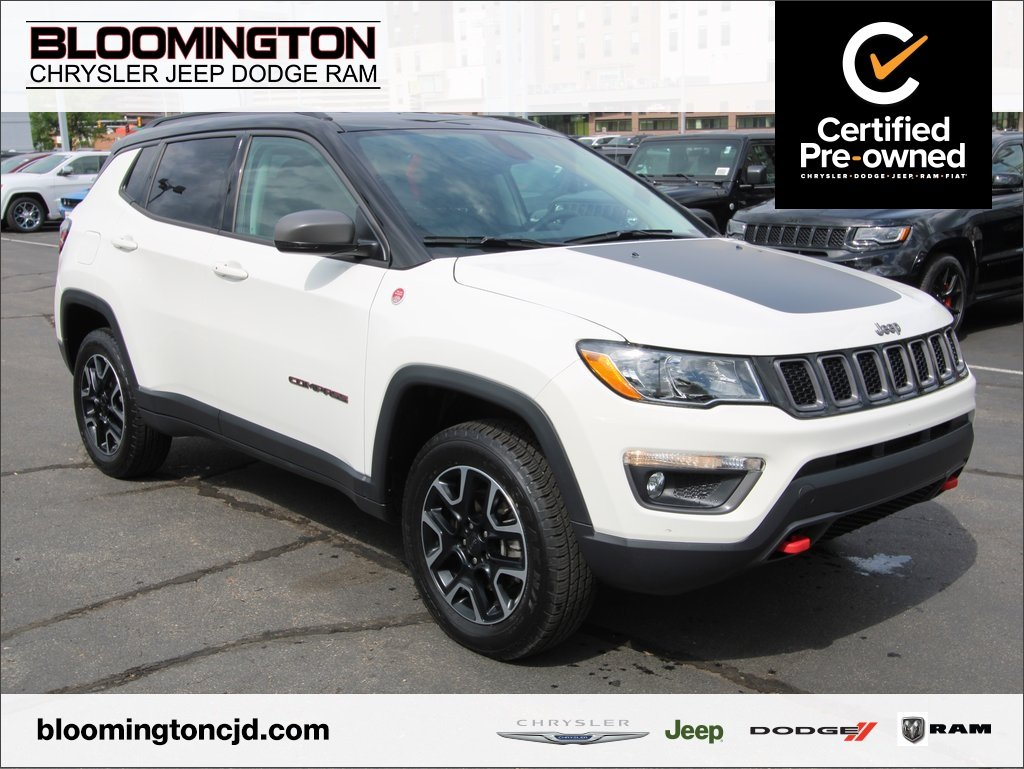 Certified Pre-Owned 2019 Jeep Compass CERTIFIED Trailhawk 4x4 Nav Cold Weather Grp
