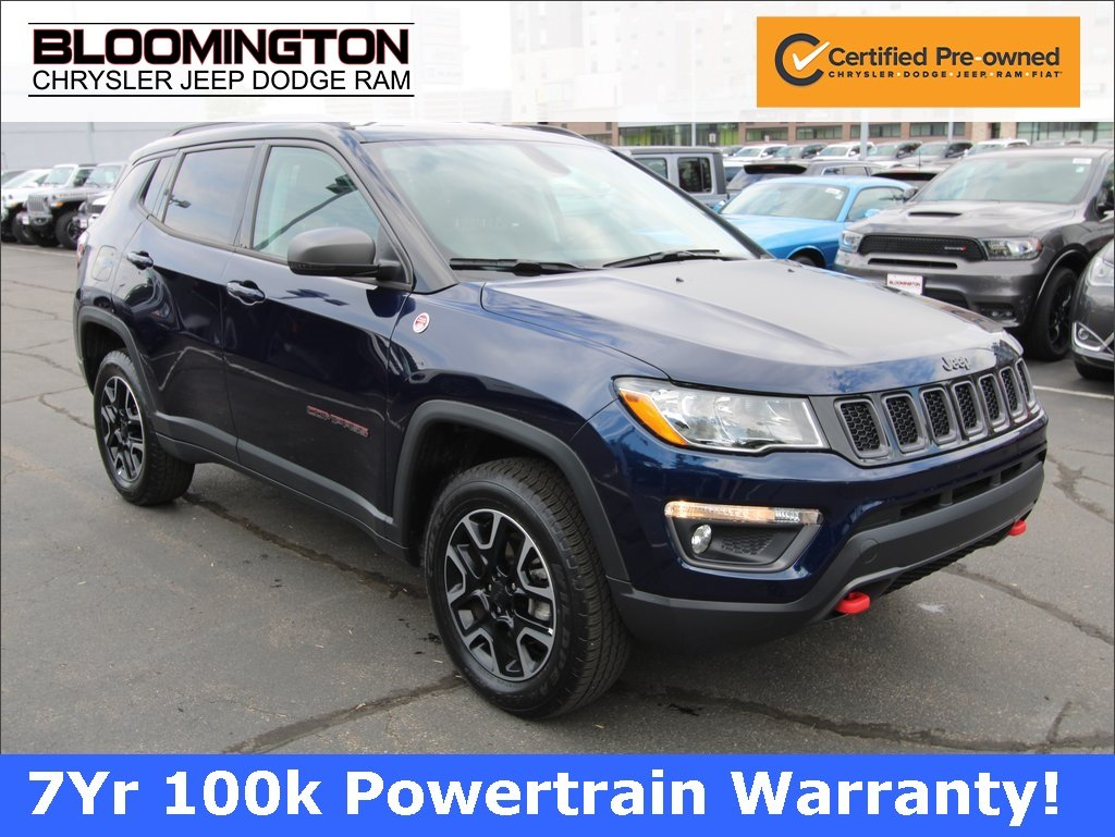 Certified Pre-Owned 2019 Jeep Compass TRAILHAWK 4X4