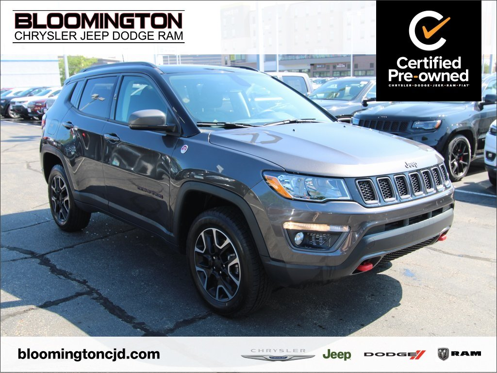 Certified Pre-Owned 2019 Jeep Compass CERTIFED Trailhawk 4X4 Sunroof Power Liftgate