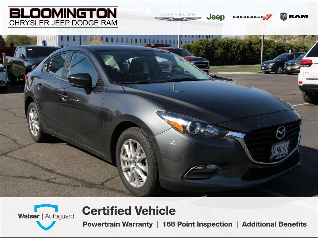 Pre-Owned 2017 Mazda3 4-Door Sport Sedan Automatic