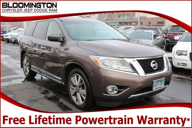 Pre-Owned 2015 Nissan Pathfinder Platinum 4x4 New Tires