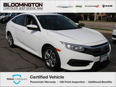 Pre-Owned 2016 Honda Civic Sedan LX Sedan