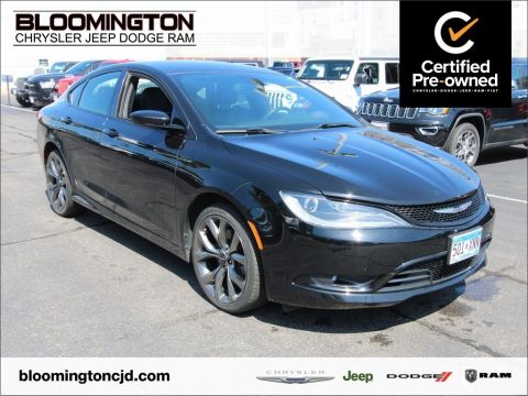 Certified Pre-Owned 2015 Chrysler 200 S AWD Heated Seats Backup Camera