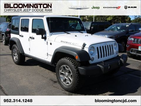 Pre-Owned 2018 Jeep Wrangler JK Unlimited RUBICON HT NAV
