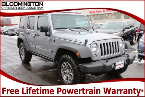 Pre-Owned 2017 Jeep Wrangler Unlimited Unlimited Rubicon 4x4 Nav Heated Leather Auto