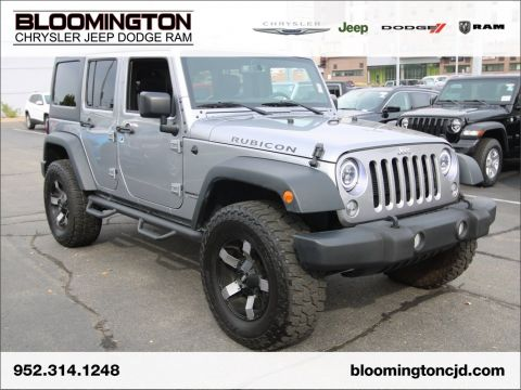 Pre-Owned 2018 Jeep Wrangler JK Unlimited RUBICON LIFTED NAV