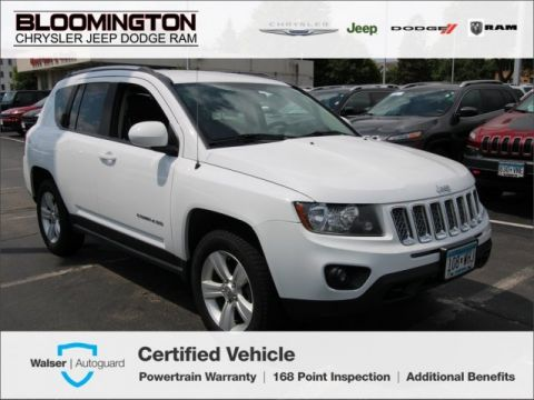 Pre-Owned 2014 Jeep Compass Latitude 4x4 Remote Start Uconnect