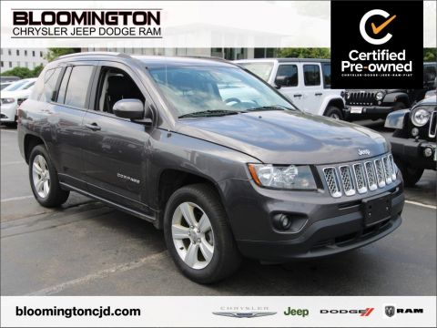 Certified Pre-Owned 2016 Jeep Compass CERTIFIED Latitude 4X4 Heated Seats