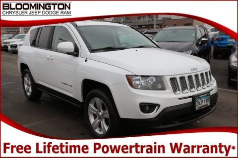 Pre-Owned 2015 Jeep Compass High Altitude 4x4 Heated Leather Sunroof