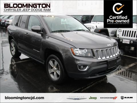 Certified Pre-Owned 2017 Jeep Compass HIGH ALT NAV MOON
