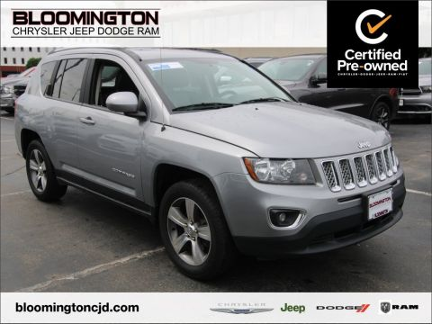 Certified Pre-Owned 2016 Jeep Compass CERTIFIED High Altitude 4x4 Back-up Camera