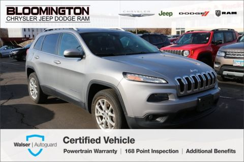 Pre-Owned 2015 Jeep Cherokee CERTIFIED Latitude TRUE NORTH ED. 4x4 Heated Leath