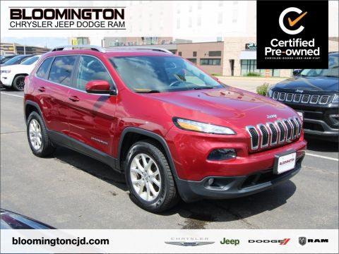 Certified Pre-Owned 2016 Jeep Cherokee CERTIFIED Latitude 4x4 Cold Weather Pkg