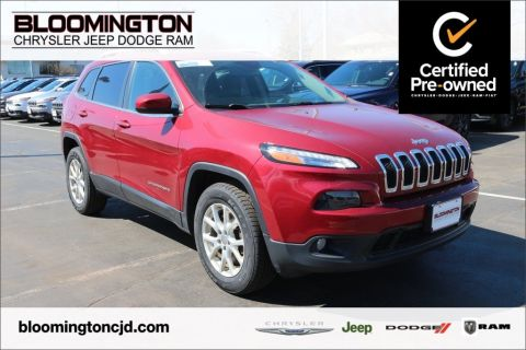 Certified Pre-Owned 2016 Jeep Cherokee CERTIFIED Latitude 4x4 Cold Weather Group