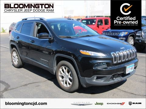 Certified Pre-Owned 2017 Jeep Cherokee