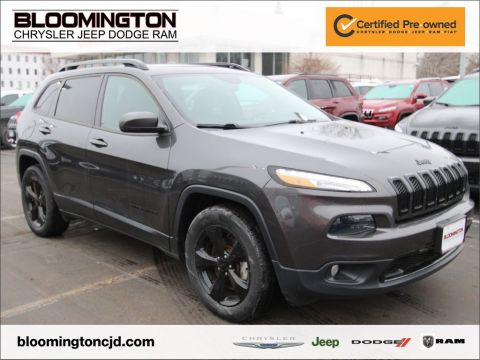 Certified Pre-Owned 2016 Jeep Cherokee HIGH ALTITUDE NAV