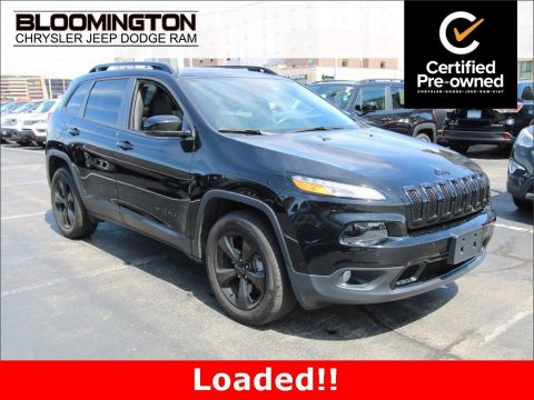 Certified Pre-Owned 2017 Jeep Cherokee CERTIFIED High Altitude V6 4x4 LOADED!!!