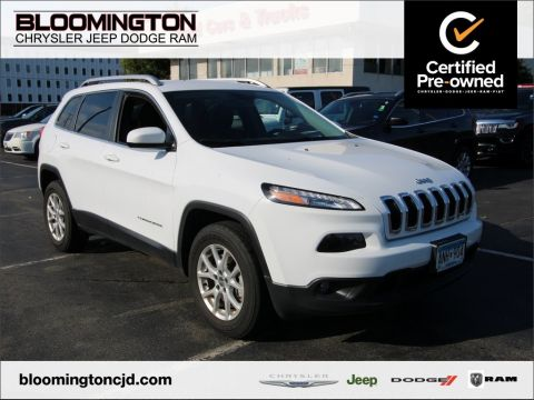 Certified Pre-Owned 2018 Jeep Cherokee CHEROKEE LATITUDE