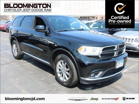 Certified Pre-Owned 2017 Dodge Durango SXT AWD Tow 8.4 Uconnect Heated Seats