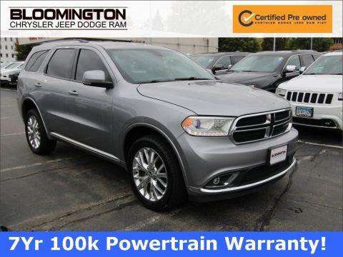 Certified Pre-Owned 2016 Dodge Durango DURANGO LIMITED